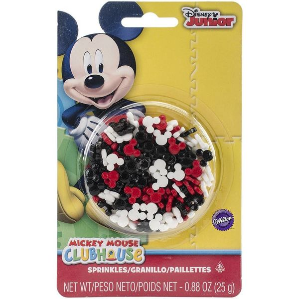 Wilton Disney Mickey Mouse Club House Sprinkles