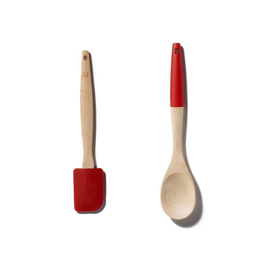 Ensemble de spatules en silicone de ricardo ares cuisine for Article de cuisine ares