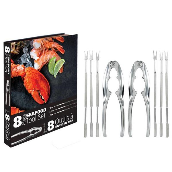 Danesco 8 pc Seafood Tool Set