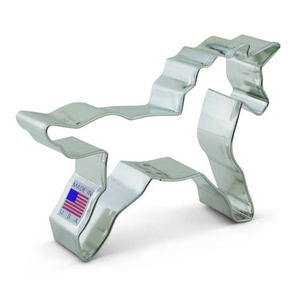 Ann Clark Cookie Cutter Unicorn 3''