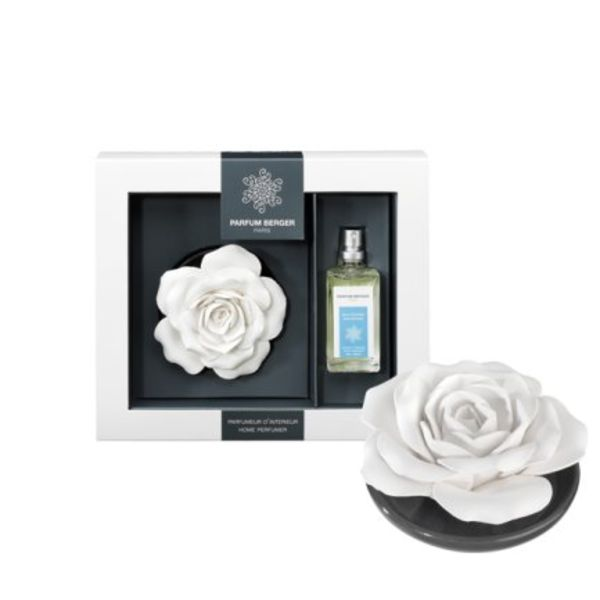 Parfum Berger the rose on a tray Soap Memories