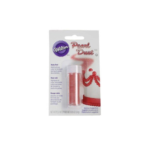 Wilton Ruby Red Pearl Dust