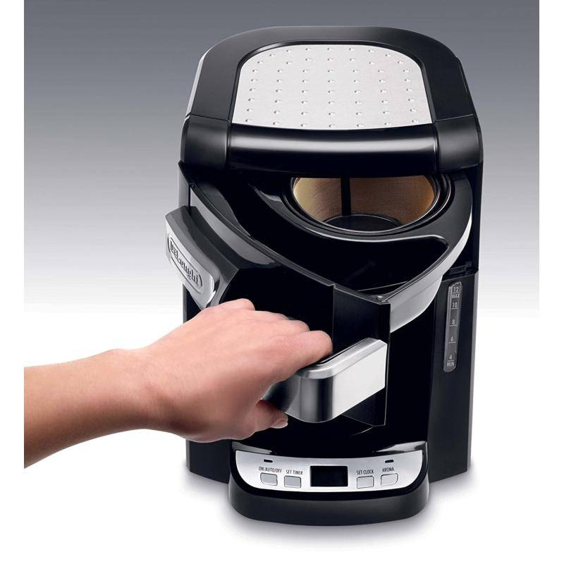 how to clean delonghi coffee maker