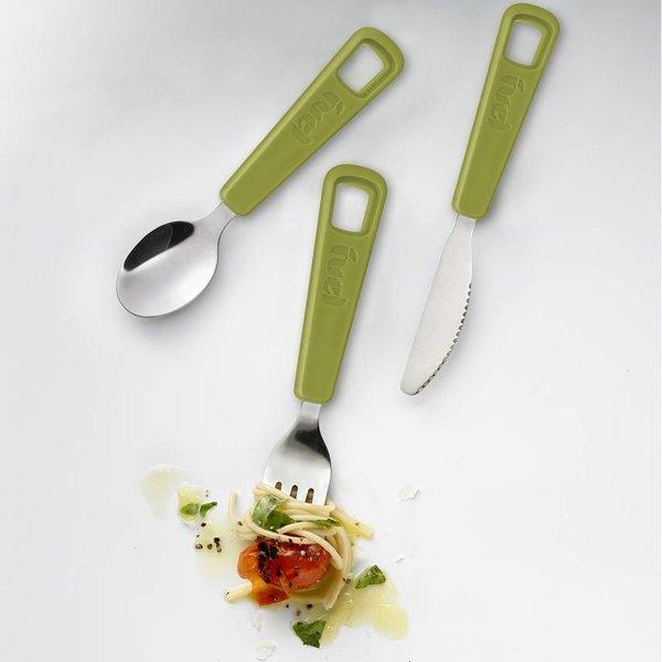 Trudeau Fuel 3 Piece Snap Cutlery Set