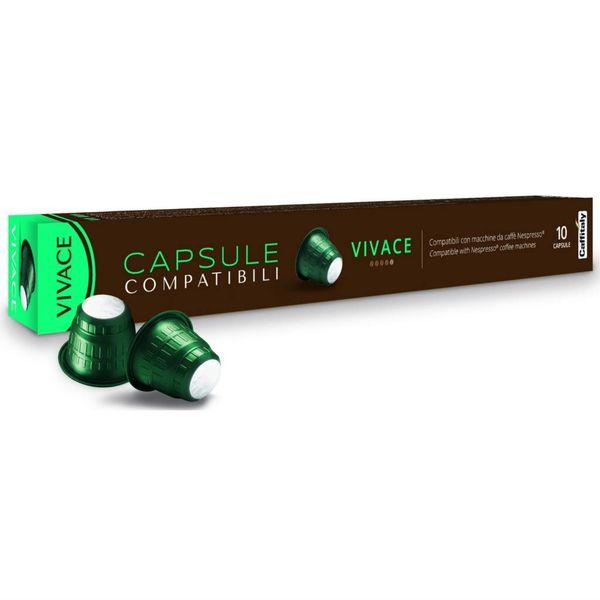 Capsules Vivace compatibles Nespresso de Caffitaly