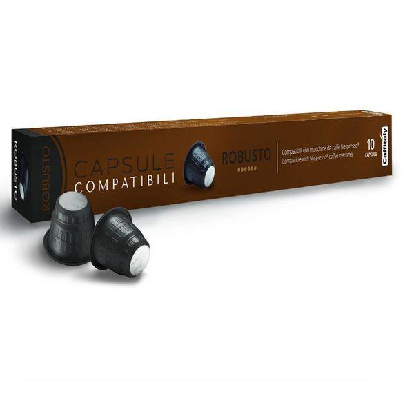 Capsules Robusto compatibles Nespresso de Caffitaly