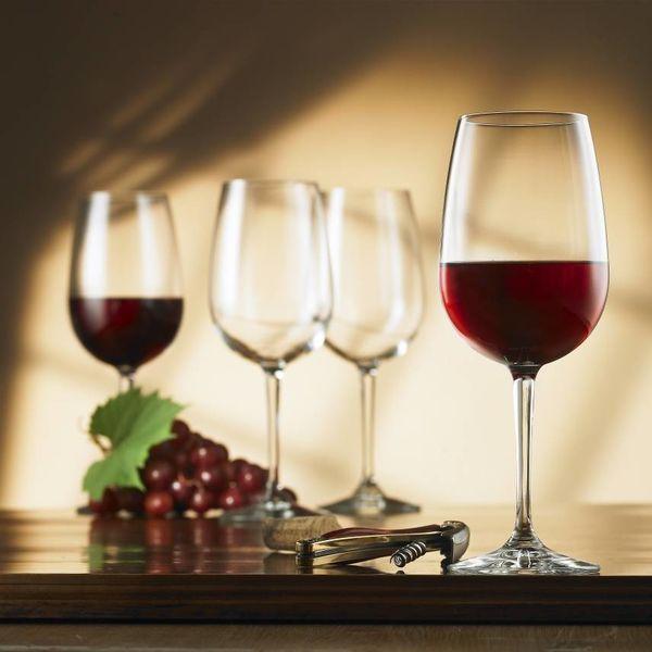 Bormioli Set of 4 Nadia Bordeaux Glasses