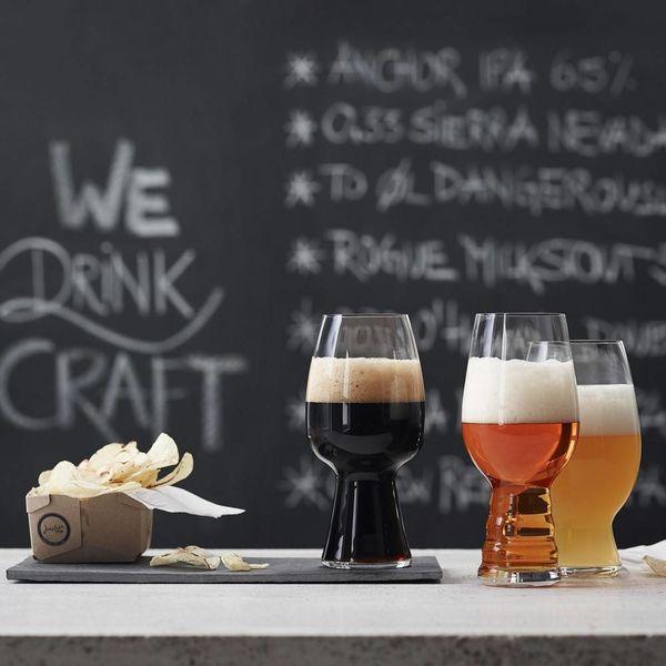 Ensemble de 3 verres à bière de dégustation de Spiegelau