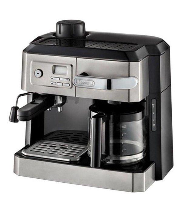 Delonghi machine caf combin e espresso vapeur et caf filtre 10 tasses de longhi avec - Solde machine a cafe ...
