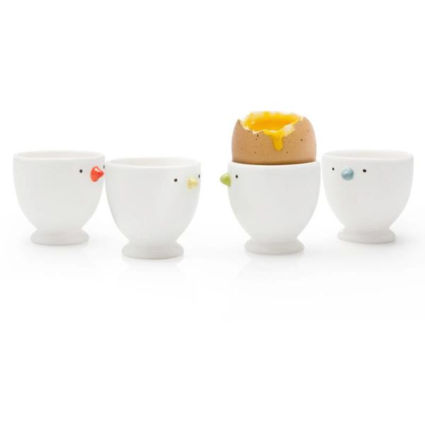 "BIA S/4 ""CHICK"" EGG CUPS, ASST"