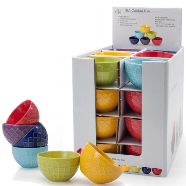 BIA DIPPING BOWL, sold individually, assorted colours