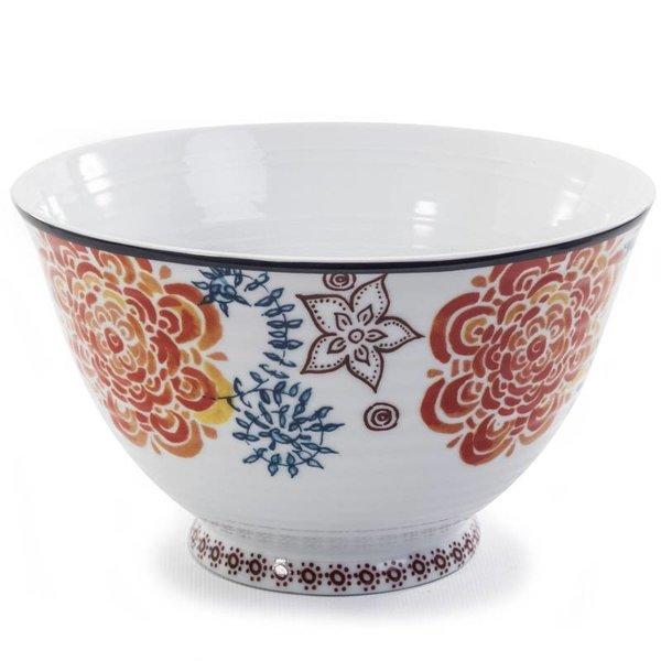Living Art TAHITI Footed Bowl