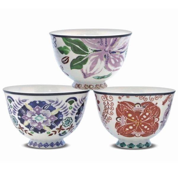 Set of 3 SEYCHELLES Bowls