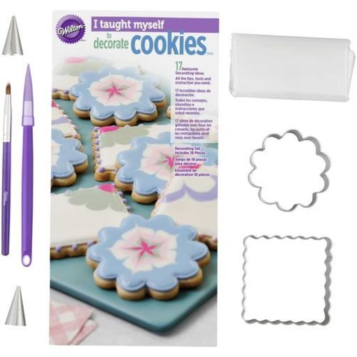 "Wilton Wilton ""I Taught Myself"" Cookie Decorating Book Set"