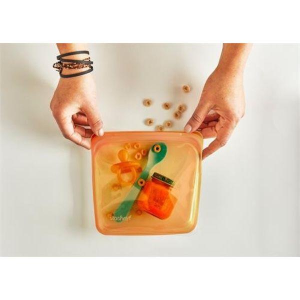 Sac de rangement réutilisable STASHER (Orange)