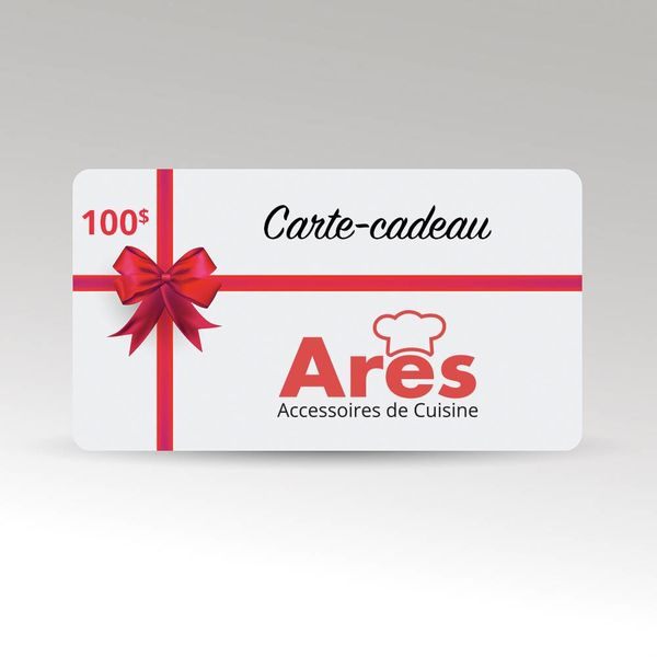 100$ Ares Gift Card VALID IN STORE ONLY