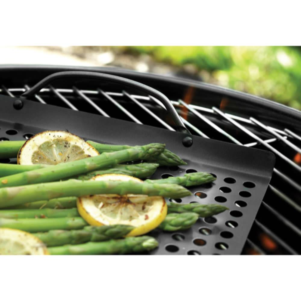 Grille de barbecue 43 x 28 cm de outset ares cuisine for Article de cuisine ares