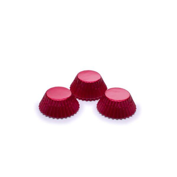 Fox Run Red Foil mini Baking Cup