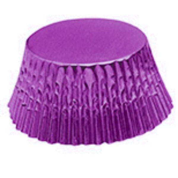 Fox Run Purple Foil Bake Cup (32)