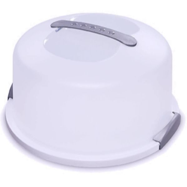 Cloche à gâteau transportable de Sterilite