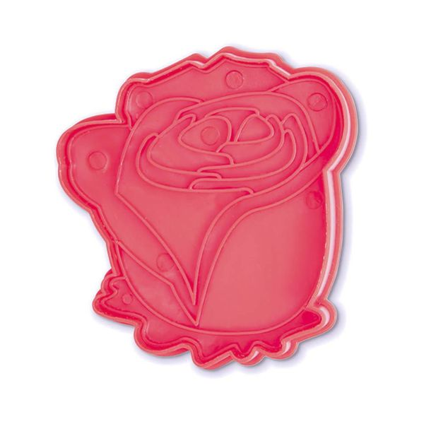 Bakelicious Rose Plunger Cutter