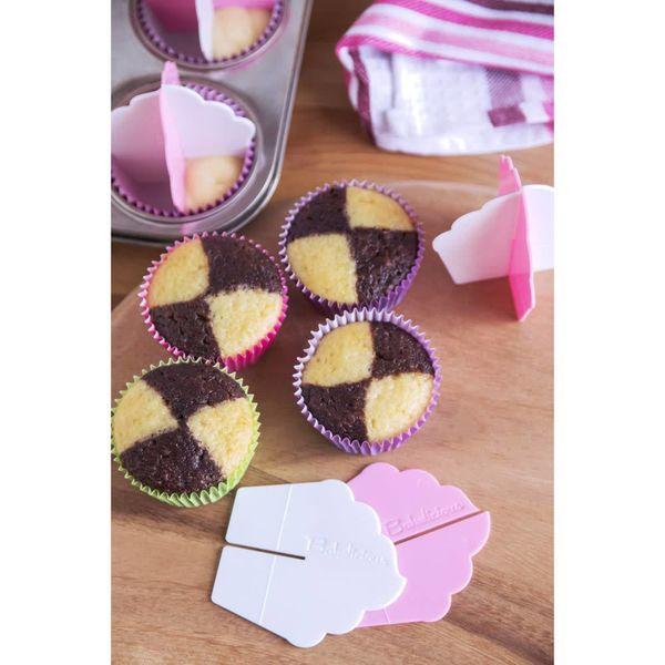 Diviseur pour cupcakes à plusieurs arômes de Bakelicious