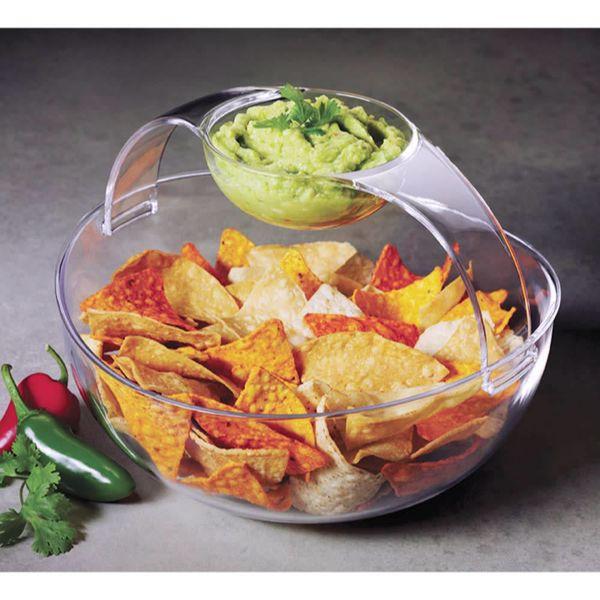 Bol acrylique ''Chip & Dip'' de Prodyne