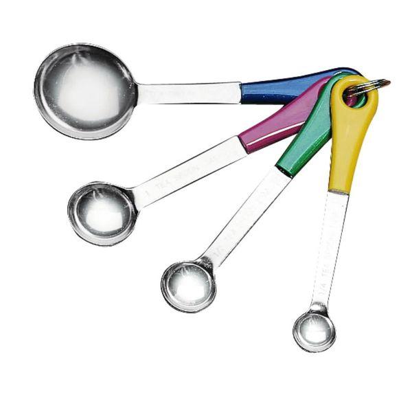 Fox Run Coloured Measuring Spoon Set
