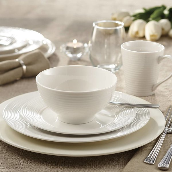 "Mann 16-Piece ""Linea"" Dinnerware Set"