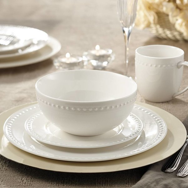 "Mann 16-Piece ""Pearl"" Dinnerware Set"