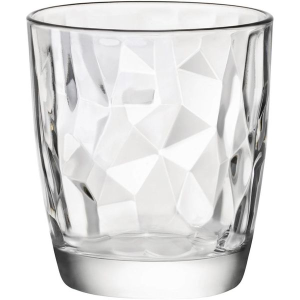 Ensemble de 4 verres Diamond de Bormioli