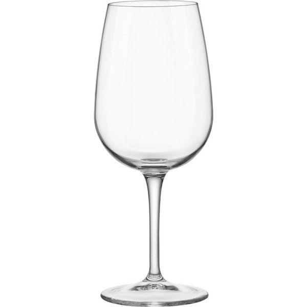 Ensemble de 4 verres à vin Spazio - 500 mL de Bormioli