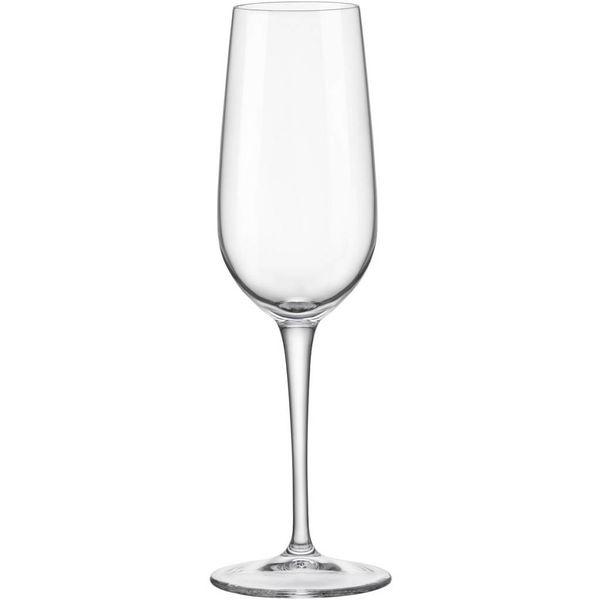 Bormioli Set of 4 Spazio Champagne Flutes