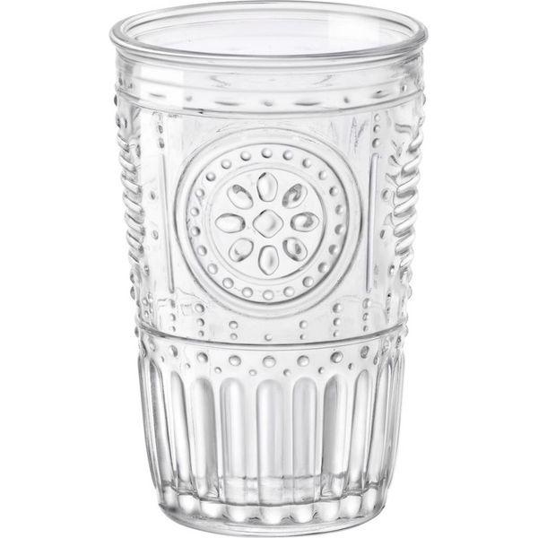 Ensemble de 4 verres Romantiques de Bormioli