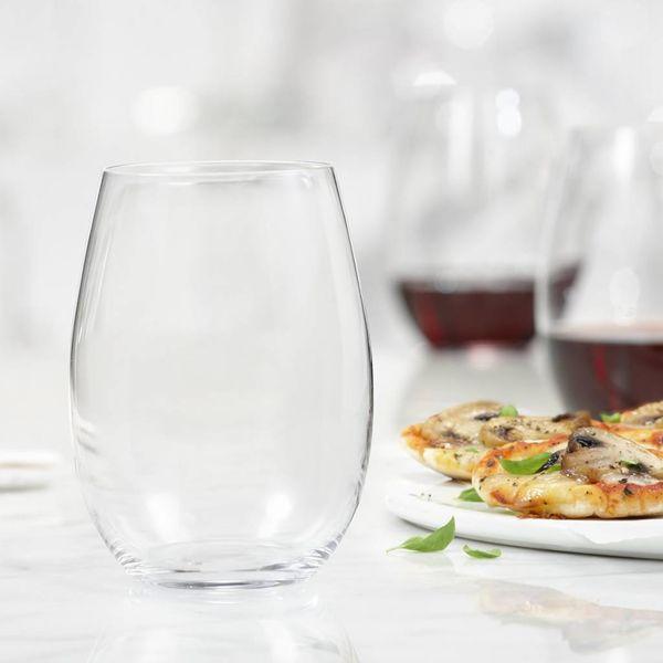 Ensemble de 4 verres à vin Splendido sans pied de Bohemia