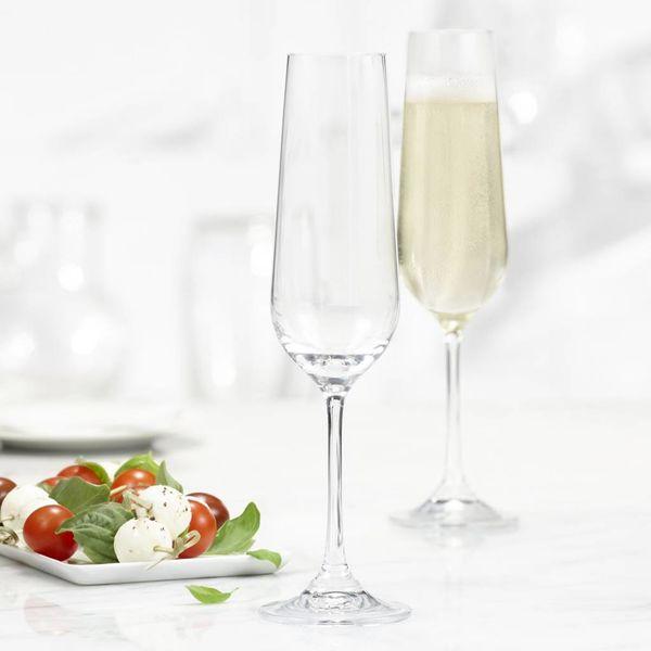 Trudeau Bohemia Set of 4 Splendido Champagne Flutes
