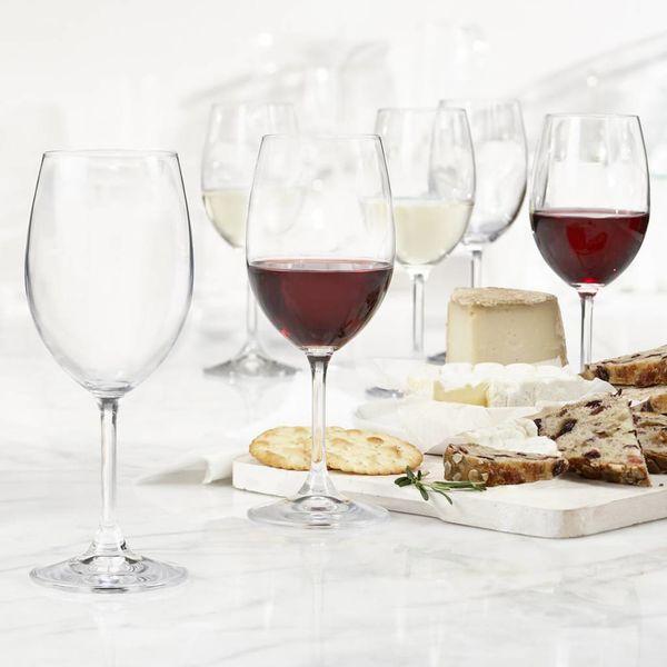 Trudeau Bohemia Set of 6 Serene Universal Wine Glasses