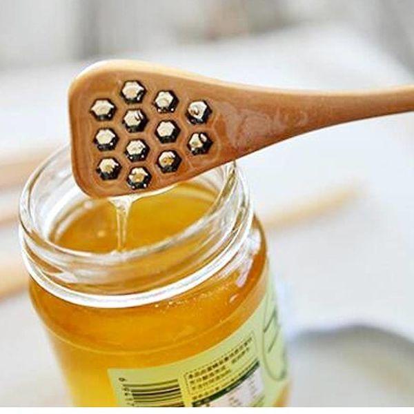 CH'A TEA Honeycomb Honey Dipper