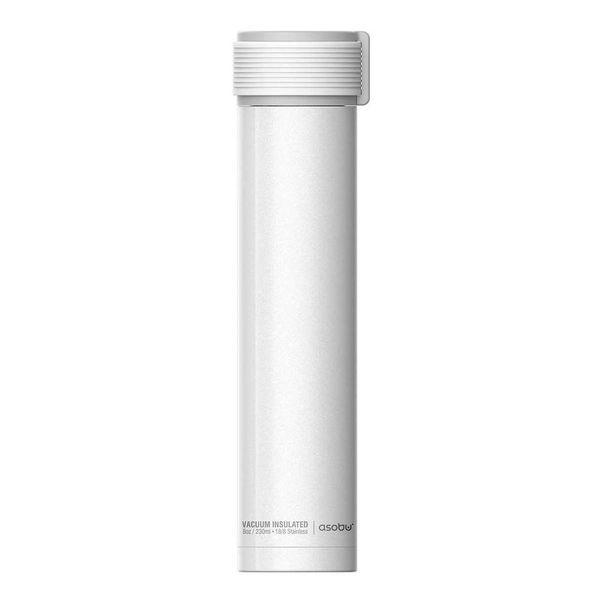 Bouteille thermique 230ml blanc ''Skinni Mini'' de Asobu