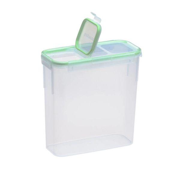 Contenant en plastique rectangulaire allongé 15.3-tasses avec couvercle rabattable hermétique de Snapware