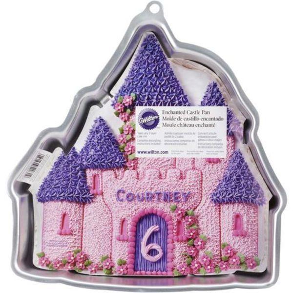 Wilton Enchanted Castle Cake