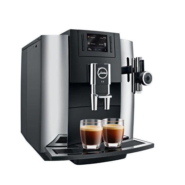 Machine à espresso automatique E8 chrome de Jura