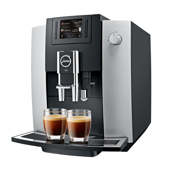 Machine à espresso automatique E6 Platine de Jura