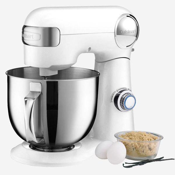 Cuisinart Precision Master™ 5.5 Qt (5.2L) Stand Mixer (White)
