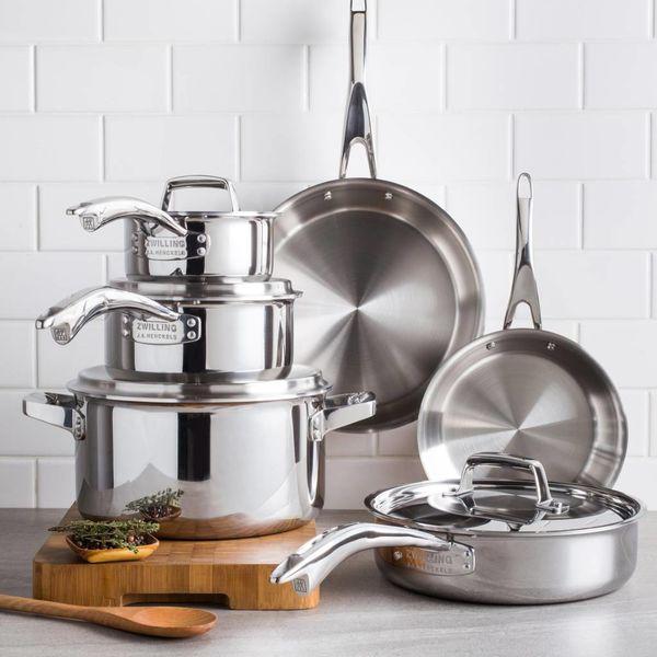 Henckels TruClad 10 Piece Cookware Set