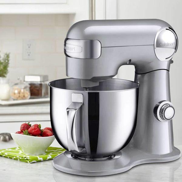 Cuisinart Precision Master™ 5.5 Qt (5.2L) Stand Mixer (Silver)