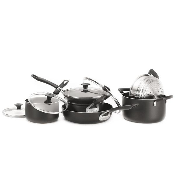 Ricardo10-Piece forged aluminum Cookware Set