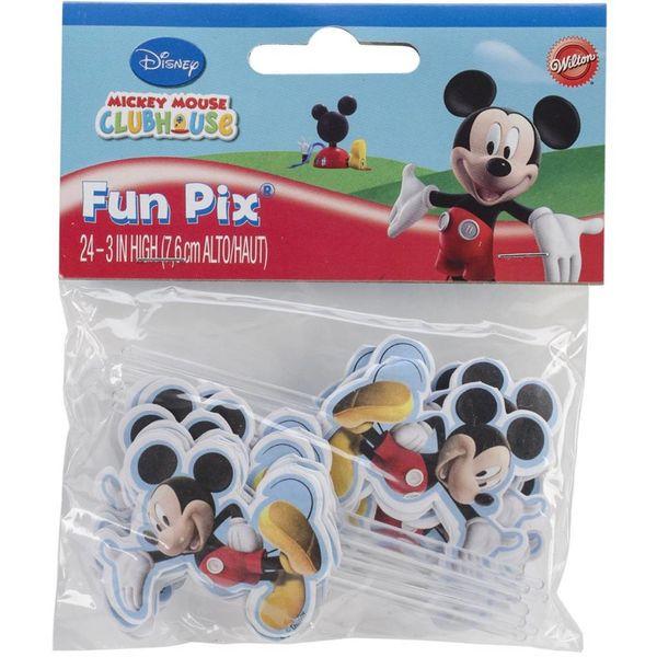 """""""Fun Pix"""" Mickey Mouse de Wilton"""