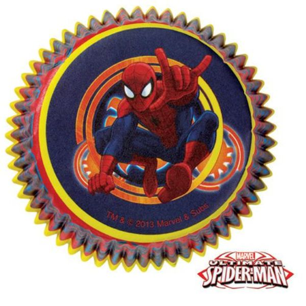 Wilton SPIDER-MAN ULTIMATE CUPCAKE LINERS