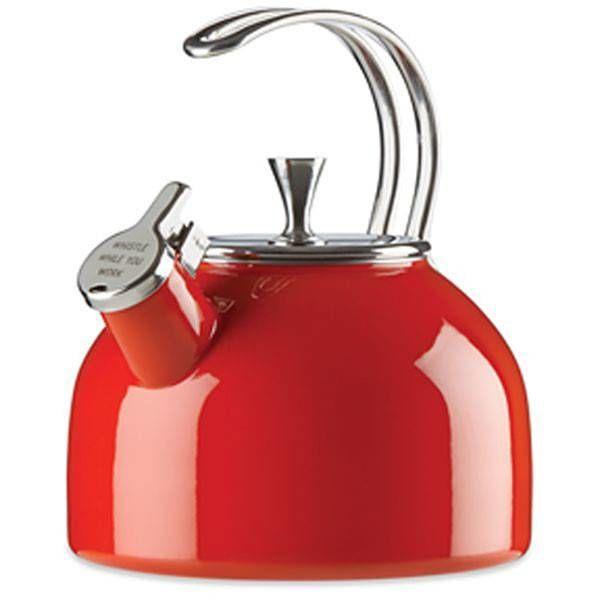 Bouilloire rouge de Kate Spade